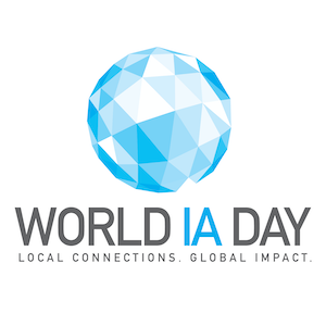 World IA Day のロゴ